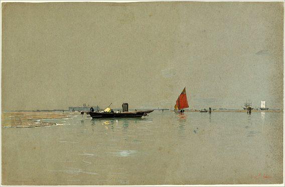 venezianischen Lagune, William Stanley Haseltine