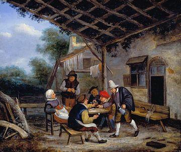 Trinkende Bauern, Adriaen van Ostade