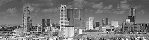 Wolkenkrabbers Wilhelminapier Rotterdam van Anton de Zeeuw
