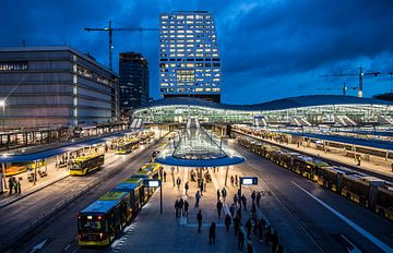 Moderne architectuur bij station Utrecht Centraal von De Utrechtse Internet Courant (DUIC)