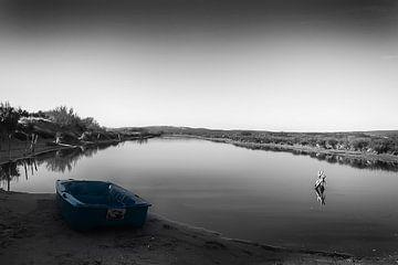 Barque bleue xl von Catherine Fortin