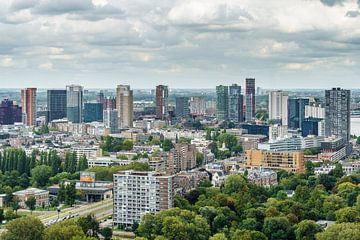 Skyline Rotterdam III van Mister Moret Photography