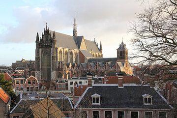 Hooglandse Kerk Leiden sur Carel van der Lippe