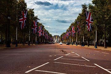 Londres, le palais de Buckingham au loin sur Nynke Altenburg