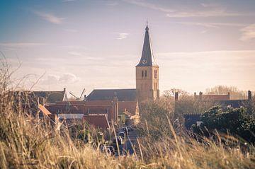 Protestantse kerk te Domburg van Sven Wildschut