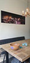 Klantfoto: Las Vegas The Strip van Danny van Schendel, op staal