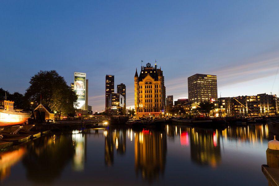 Oude Haven Rotterdam  van Sander Monster