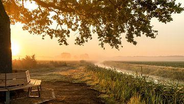 Sonnenaufgang von Cynthia Verbruggen