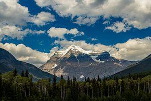 De hoogste berg van Canada(mount Robson)