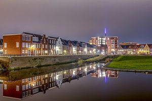 Avondfoto van de Boerevest - Bergen op Zoom van Stefan Fokkens