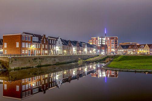 Avondfoto van de Boerevest - Bergen op Zoom