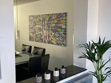 Photo de nos clients: Bloquer toutes les couleurs sur Marion Tenbergen, sur toile