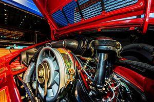 Porsche De Motorruimte