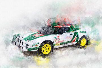 Lancia Stratos HF Rallye von Theodor Decker