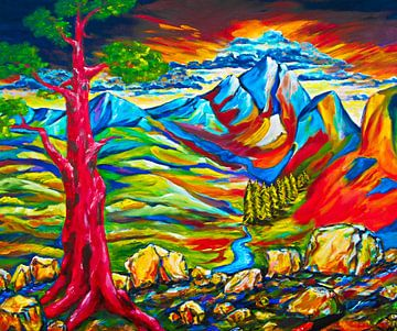 Der rote Baum von