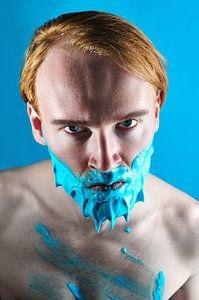 Whip cream beard