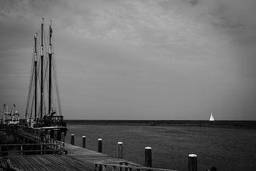 De haven van Stavoren von Peter Bouwknegt