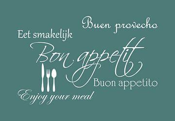 Bon appetit - Groen van Sandra Hazes