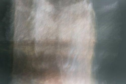 Over het hek | Abstract landschap