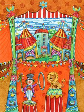 CIRCUS STAD - Kunst voor kleine Prinsen en Prinsessen sur Atelier BuntePunkt