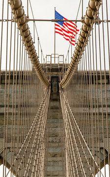 Brooklyn Bridge van Jack Koning