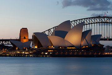 Sydney Harbor von Mike van den Brink