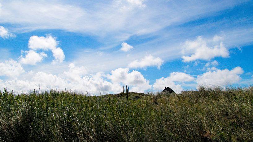 Wolken über Spiekeroog von Andrea Fettweis