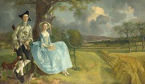 Mr. und Mrs. Andrews, Thomas Gainsborough
