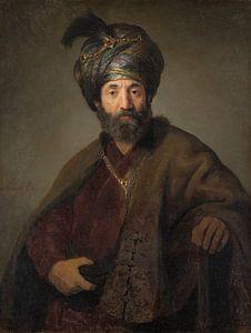 Man in Oriëntaals Kostuum, Rembrandt, Govert Flinck