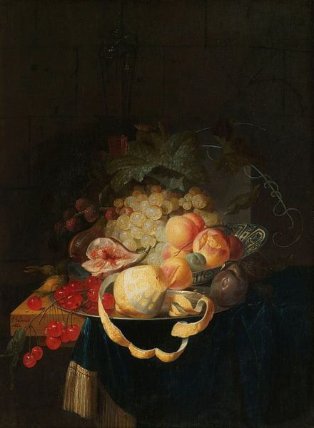 Stilleven met vruchten, Johannes Hannot
