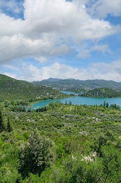 aux lacs de Bacina, près de Ploce sur Peter Eckert