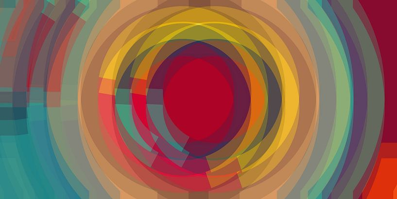Swirled bunt van Marion Tenbergen