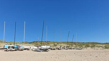 Catamarans bij de zeilclub van Ton van Waard - Pro-Moois