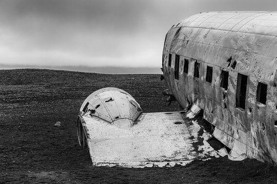 Vliegtuig wrak IJsland