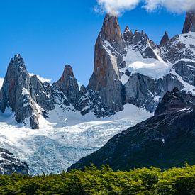 Berglandschaft am Fitz Roy in den chilenisch-argentinischen Anden von Max Steinwald