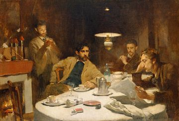 Das Zehn-Cent-Frühstück, Willard Metcalf