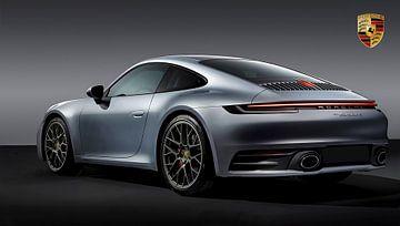 Porsche 911 Carrera, avec emblème sur Gert Hilbink