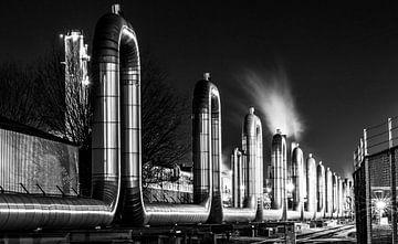 Botlek-Raffinerie von Govart (Govert van der Heijden)