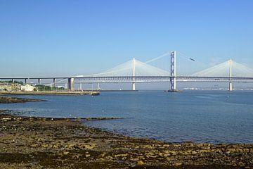 De Queensferry Crossing is een verkeersbrug in Schotland van Babetts Bildergalerie
