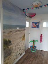 Klantfoto: Weg naar het strand van Michael Valjak, als behang
