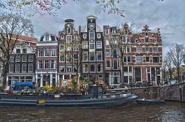 Amsterdamse Prinsengracht von