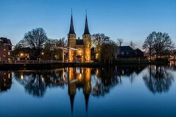 Delft. Oostpoort. Foto: Gerrit de Heus. van Gerrit de Heus