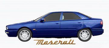 Maserati Quattroporte IV in blue