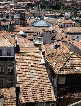 Dächer von Porto II von Eddie Meijer