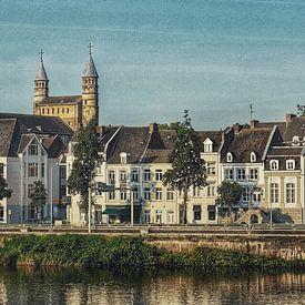 Maastricht en Onze Lieve Vrouwe Basiliek van Rob van der Pijll