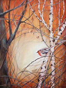 """robin zwischen den Zweigen... """"Hoffnung bringen"""""""