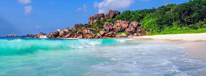 Grand Anse, La Dique - Seychelles von Van Oostrum Photography
