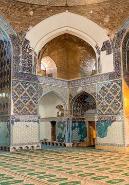 Iran: Blauwe moskee (Tabriz) van Maarten Verhees