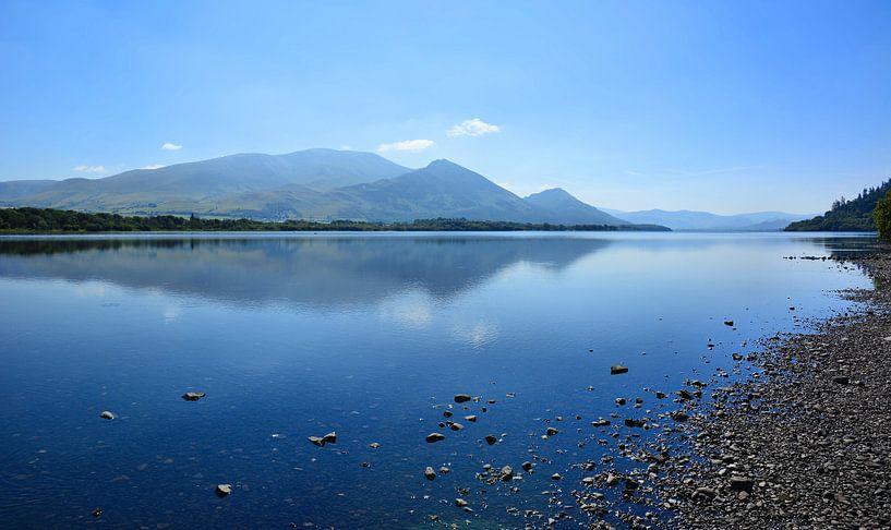 Lovely Morning on Bassenthwaite Lake van Gisela Scheffbuch
