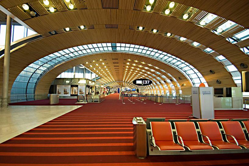 Paris airport van Casper Zoethout